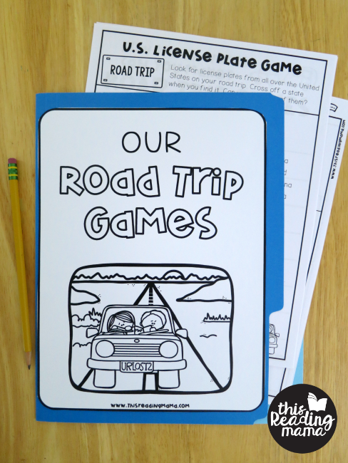 Keep No Prep Road Trip Games in a folder