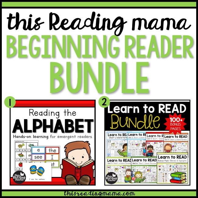 This Reading Mama Beginning Reader Bundle - This Reading Mama